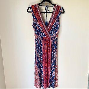 Flying Tomatoes V-neckline Dress